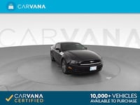 2014 Ford Mustang coupe V6 Coupe 2D BLACK Phoenix