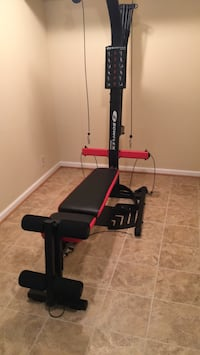 black and red Bowflex exercise equipment Springfield, 22152