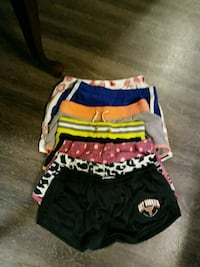 black, white, and red shorts Waco, 76708