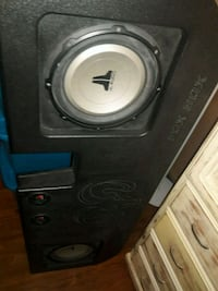 black and gray Pioneer subwoofer speaker Bakersfield, 93304