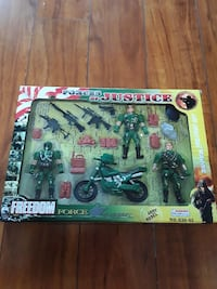 Forces of Justice action figure set box