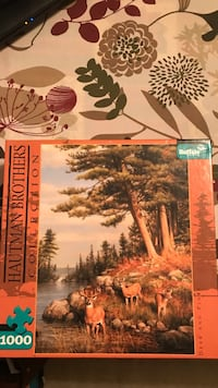 Two 1000 piece Puzzles $4 each Inwood, 25428