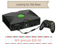 Looking for Original old Xbox Ottawa, K0A 2P0