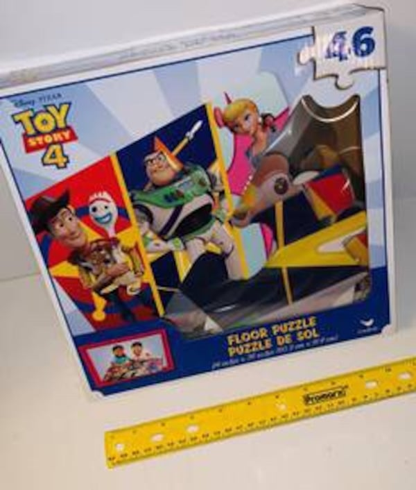 Brand New Disney toy story four large 46 piece floor puzzle 8cdf70fb-3878-47f6-8c12-5162d58ec793