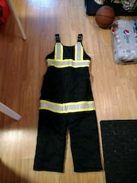 Lightly Used High-Visibility Black Snow Coveralls Cambridge, N3C 2G8