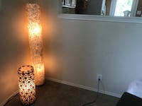 Abstract, beautiful, and beachy-vibe lamps Boerne, 78006