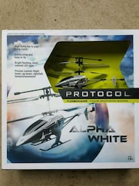 Turbohawk Remote Control Helicopter.