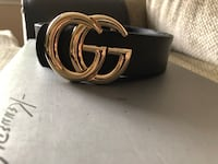 Black and Gold Gucci belt very good quality West Vancouver, V7T 2K6