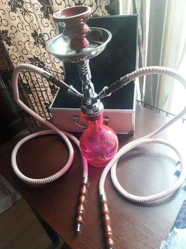 Used Pink 2 Hose Hookah for sale in Rohnert Park - letgo