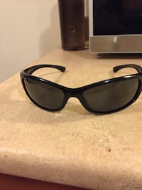 black framed sunglasses with case Kelowna, V1W 3S9