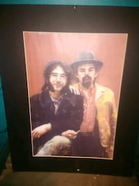 Jerry and pigpen pastel and pencil signed number  Sunbury, 17801