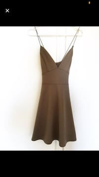 Brown Dress (Sz L) Toronto, M6A 2T9