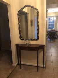Entryway table and mirror set Edgewater, 21401