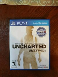 Uncharted The Nathan Drake Collection PS4 game cas Abilene, 79605