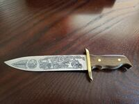 Harley Davidson engraved 85th Anniversary Knife with box