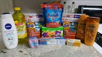 assorted-brand household cleaning product lot Bryan