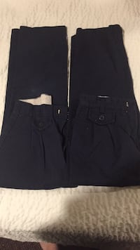 Navy dress pants size 7 Gainesville, 20155