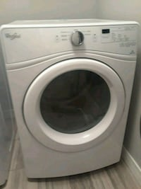 white front-load clothes washer Beaumont, T4X 0H1