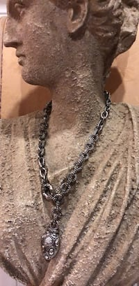 silver-colored chain necklace Vancouver, V5X 3X4
