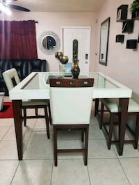 white and brown wooden table Hollywood, 33024