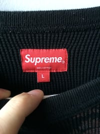 Authentic Supreme Thermal Sweater London, N5Z
