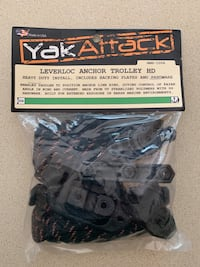 YakAttack Kayak Leverloc Anchor Trolley HD