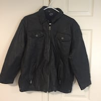 Boys youth genuine leather jacket from gap Brampton, L6R