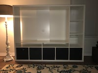 White Entertainment Center / TV Storage from IKEA Owings Mills, 21117