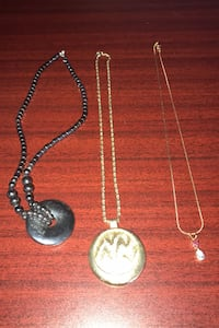 3 necklaces , T6S 1G3
