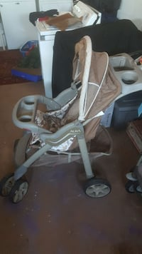 baby's brown and gray Aura umbrella stroller Kissimmee, 34743