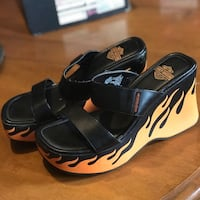 Women's Harley Davidson Flame Platform Sandals Peterborough, K9H 5R6