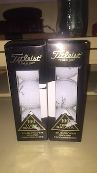6 Titleist Golf Balls. Brand new  Chantilly, 20151