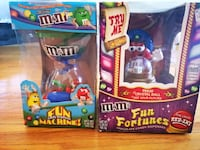 Set of two M&M's candy dispenser machines Yonkers