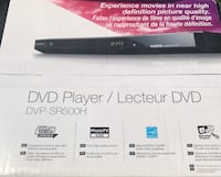 Black sony dvd player  Laval