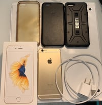 Unlocked iPhone 6s 16GB Gold w/ Accessories Toronto, M5J 2N1