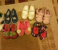 toddler's assorted pairs of shoes Calgary, T3J 2T2