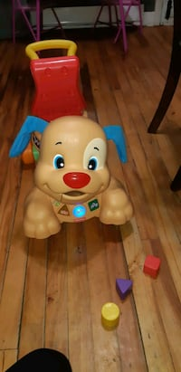 Fisher price puppy dog Walker/ ride on toy Montreal, H4H 2C7