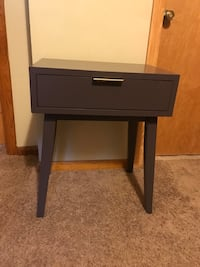 Retro Mauve Accent Table / Table Stand Bellevue, 15202