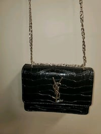YSL snakeskin leather bag  Maple, L6A