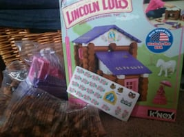 Lincoln Logs ** country meadow cottage **