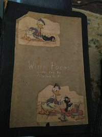 And old poem book. Dates back to 1939 409 mi