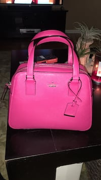 Pink kate spade leather tote bag Hillsborough, 94010