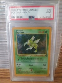 PSA 9 Scyther Jungle Holo