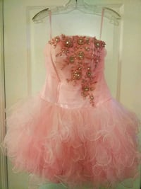 Pink Tulle Dress with Beading Markham, L6B 0W3