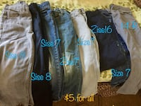assorted color denim jeans lot San Benito, 78586