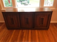 brown wooden 2-door cabinet Derwood, 20855
