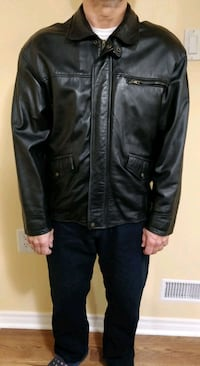 Men's genuine leather jacket, brand - Danier, M-L Vaughan, L4K 5S2