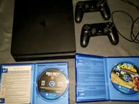 Sony PS4 console with controller and game cases Orange Park, 32003