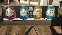 Candy Skull Wine Glass - Stemless (set of 8) NEW in box Germantown, 20876
