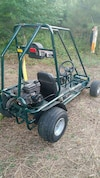 black and green Murray go kart